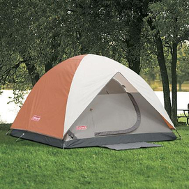 Enlarge & Coleman® u0027u0027Sundomeu0027u0027 10 x 10u0027 5-person Tent with WeatherTec ...