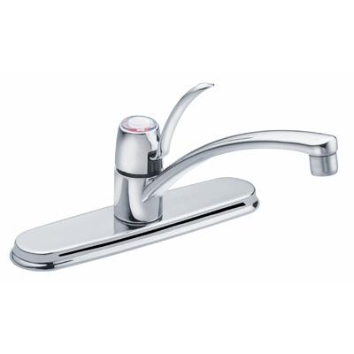 kitchen faucet with 8 in centres chrome finish home depot canada