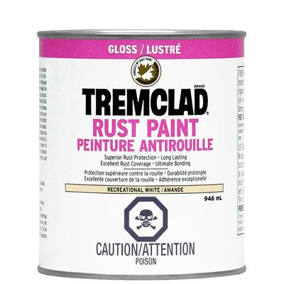 Tremclad Rust Paint Off White 946ml Home Depot Canada Ottawa