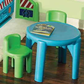 Little Tikes Bright N 39 Bold Table And Chairs Set Sears