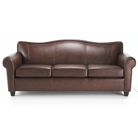 Whole Home MD 'Londonderry Leather Sofa with Round Legs Sears Canada Ottawa