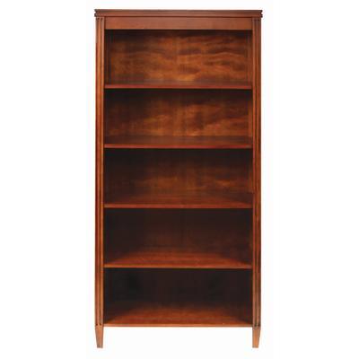 muskoka rosemont collection bookcase pecan home depot. Black Bedroom Furniture Sets. Home Design Ideas