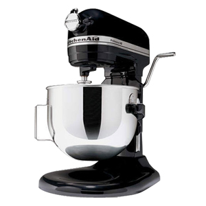 Kitchenaid Professional Hd Mixer 4kg25h3xob Black