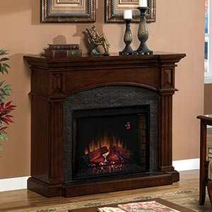 Morrison Traditional Style Electric Fireplace Costco