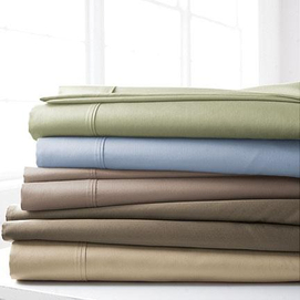39 ls home 39 percale sheet set with high thread count sears for High thread count bed sheets