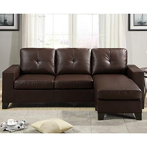 bonded leather sectional Quotes