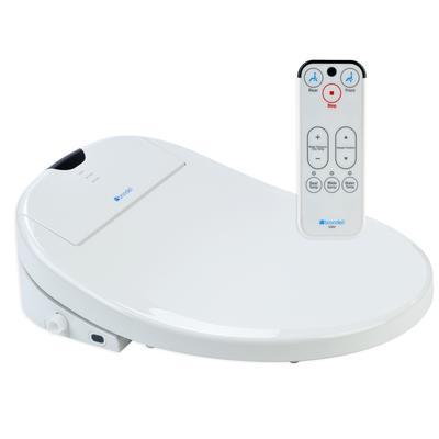 Brondell white elongated heated bidet toilet seat s900 home depot canada ottawa - Bidet heated toilet seat ...