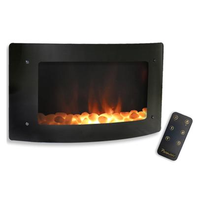 Paramount Barcelona Curved Wall Mount Fireplace Home Depot Canada Ottawa
