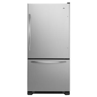 Amana 22 Cubic Feet Bottom Freezer Refrigerator Home