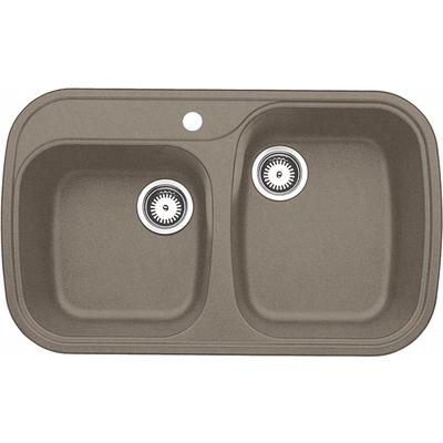 Granite Sink Price : ... Silgranit, Natural Granite Composite Topmount Kitchen Sink, Truffle