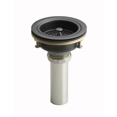 Kohler Duostrainer Sink Strainer in Oil-Rubbed Bronze - Home Depot ...