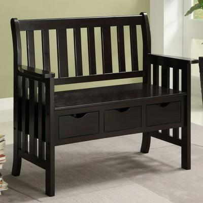 Ax2370 Acadian Entryway Bench By Simpli Home - AxSoris.
