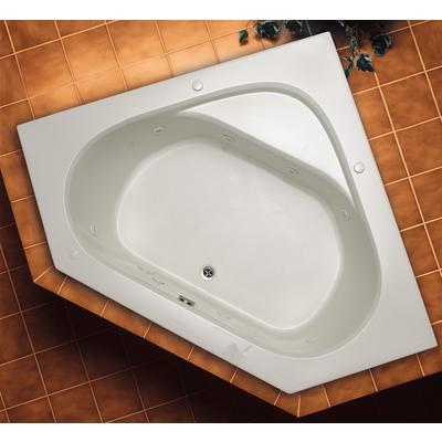 Mirolin Soho 1 Corner Drop In Acrylic Tub Home Depot