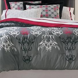 My stuff md 39 tattoo 39 comforter sears canada ottawa for Tattoo bedding queen