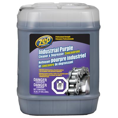 Zep industrial purple cleaner and degreaser 18 9 l for Commercial degreaser for concrete
