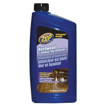 Zep Hardwood And Laminate Floor Refinisher 946 Ml Home