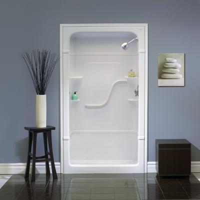 Mirolin Madison 48 Inch 1 Pc Acrylic Shower Stall No Seat