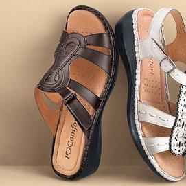 I Love Comfort 174 Md Women S Leather Slide Sandals Sears