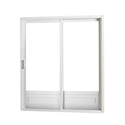 Sure glide patio door sliding patio door with low e 5 foot for Home depot outside doors