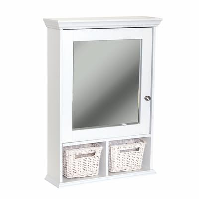 zenith wall cubby medicine cabinet white home depot