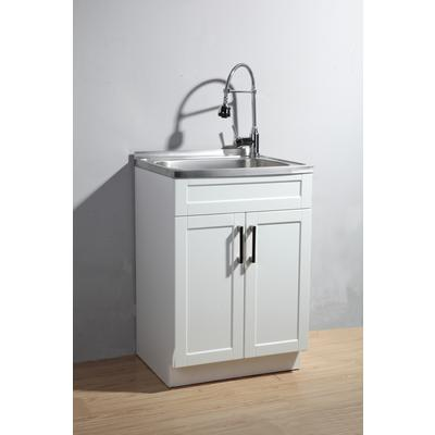 Laundry Cabinet And Sink : Simplihome Utility Laundry Sink With Cabinet - Home Depot Canada ...