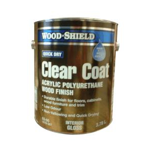 Wood Shield Gloss Latex Acrylic Polyurethane Wood Finish Home Hardware Ottawa