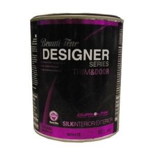 Beauti Tone Designer Series 911ml Door Trim White Base Silk Finish Interior Latex Paint Home