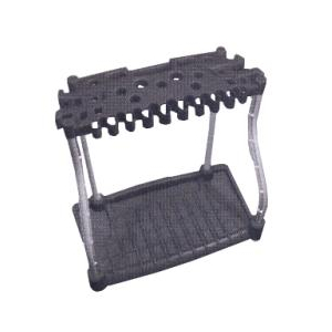 Rubbermaid long handled tools storage rack home hardware for Gardening tools ottawa