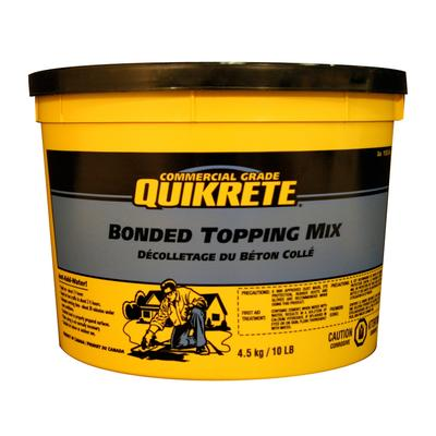 Quikrete Bonded Topping Mix 4 5kg Pail Home Depot Canada