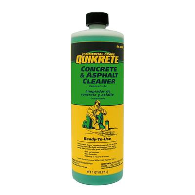 Quikrete concrete and asphalt cleaner 946ml home depot for Non toxic concrete cleaner