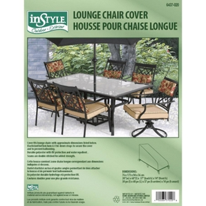 Instyle Outdoor 68 X 30 Poly Pu Lounge Chair Cover Home Hardware Ottawa