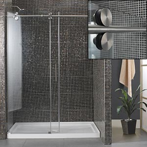 madison shower 10 mm tempered glass reversible door tub replacement costco ottawa. Black Bedroom Furniture Sets. Home Design Ideas