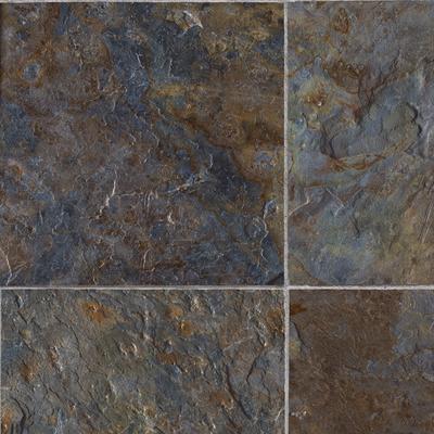 Tarkett inc fiberfloor sheet vinyl grande blue multi for Tarkett flooring canada