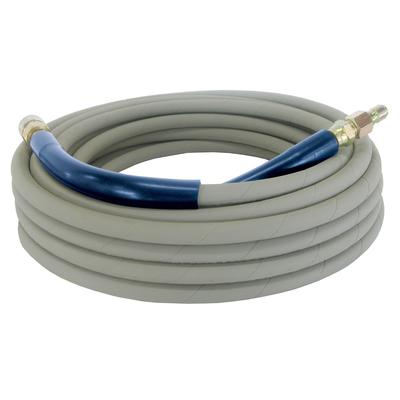 Be Power Washer 50ft 4 000 Psi Non Marking Grey High Pressure Hose With Quick Connect Fittings