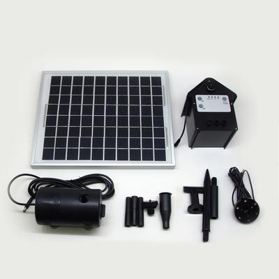Sensible Solar 200 Gph Solar Hybrid Fountain Pond Pump