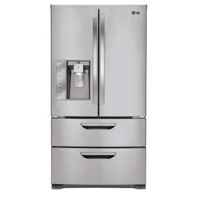 Lg 36 Inch 30 5 Cubic Feet 4 Door Refrigerator With Slim