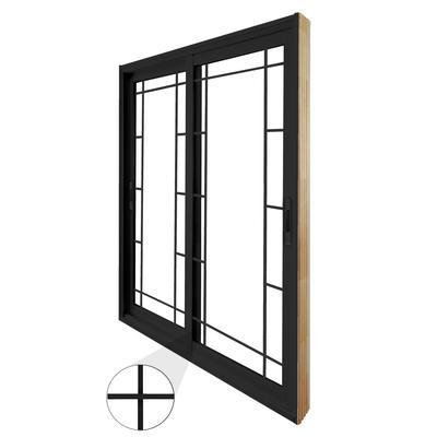 Stanley doors double sliding patio door prairie style for 4 ft sliding patio doors