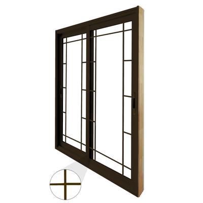 Stanley doors double sliding patio door prairie style for Home depot exterior doors canada