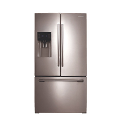 Samsung 25 6 Cu Ft French Door Refrigerator Rf263beaesr