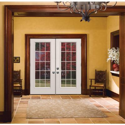 Jeld wen windows doors french inswing 6 inch 15 lite lh for 15 french door