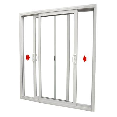 Dualglide patio door dualglide sliding patio door with low for Wide sliding patio doors