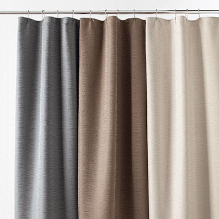 Cool Curtain Tie Backs Profile Shower Curtain