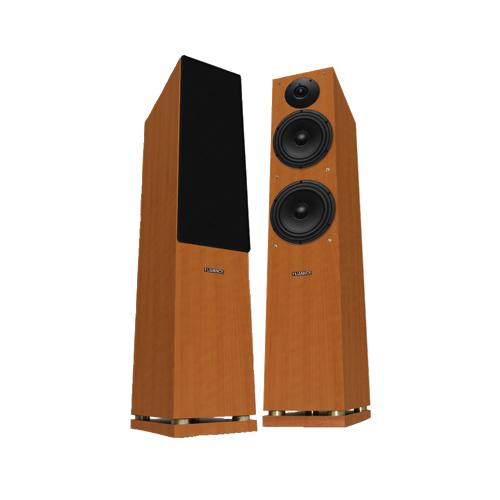 Fluance floor standing speaker sxhtbfr brown pair for 12 inch floor standing speakers
