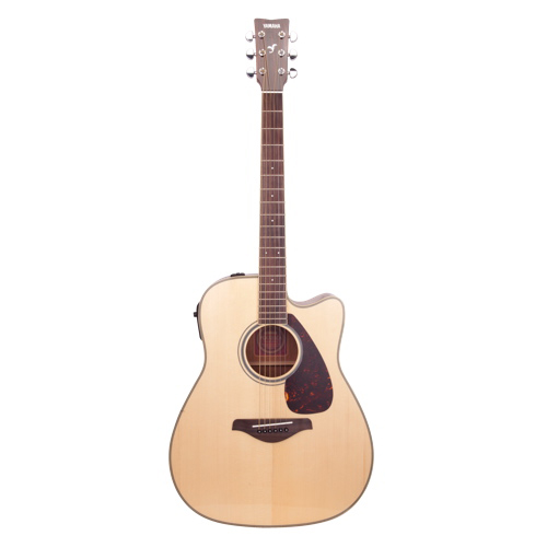 Yamaha cutaway acoustic guitar fgx720sca natural for Yamaha fgx720sca price