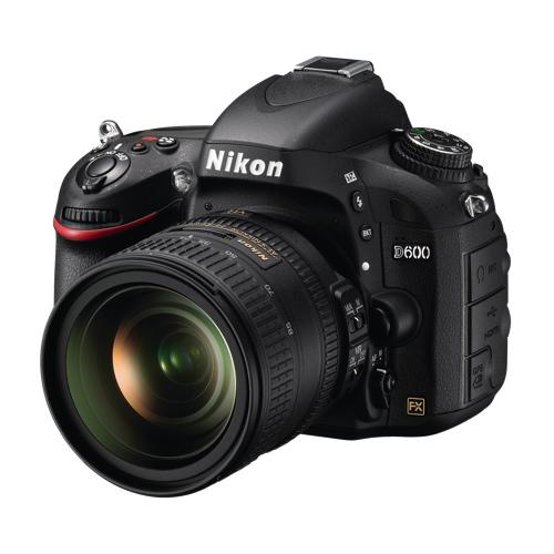 Nikon d600 24 3mp digital slr camera with 24 85mm vr lens for Best lens for furniture photography