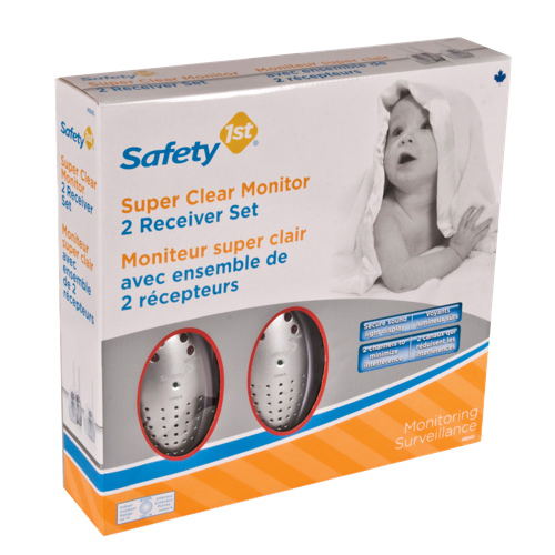 safety 1st 2 receiver baby monitor set 49243a receiver baby monitor set best buy ottawa. Black Bedroom Furniture Sets. Home Design Ideas