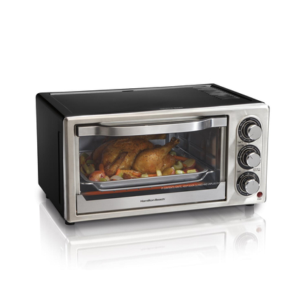Hamilton Beach? Convection Toaster Oven/Broiler, 6-Slice - Sears ...