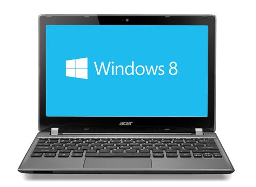 "Acer Aspire V-Series 11.6"" Laptop - Silver (Intel Core i5-3317U"