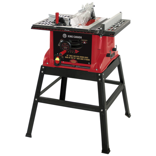 King canada 10 table saw with riving knife kc 5005r for 99 table saw