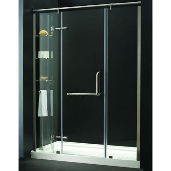 karine tub replacement shower 8mm tempered glass costco ottawa. Black Bedroom Furniture Sets. Home Design Ideas